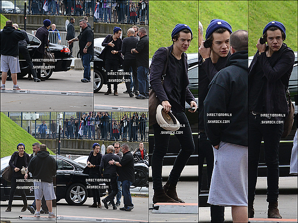  29/04/13 - Harry a t vu  Paris aujourd'hui en avance de leur concert de sa Worldwide, TMHT ! 